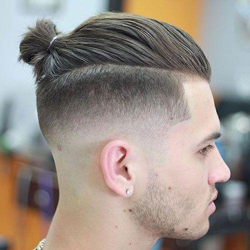 Corte de pelo estilo estilo Top Knot