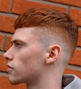 Corte de pelo colores desvanecesn
