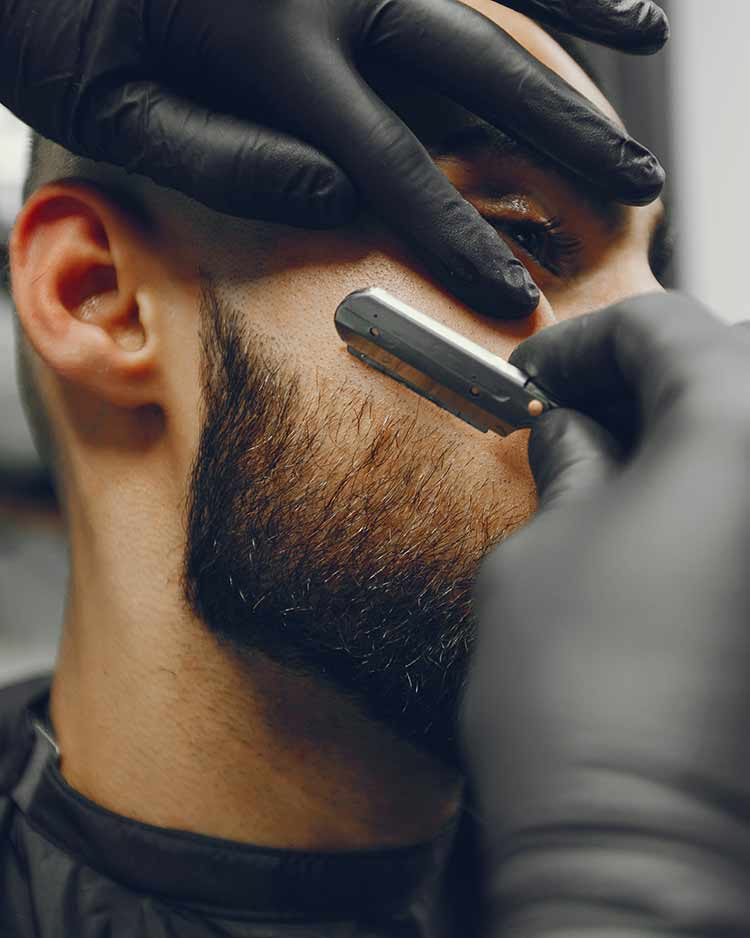 Arreglo de barba clásico