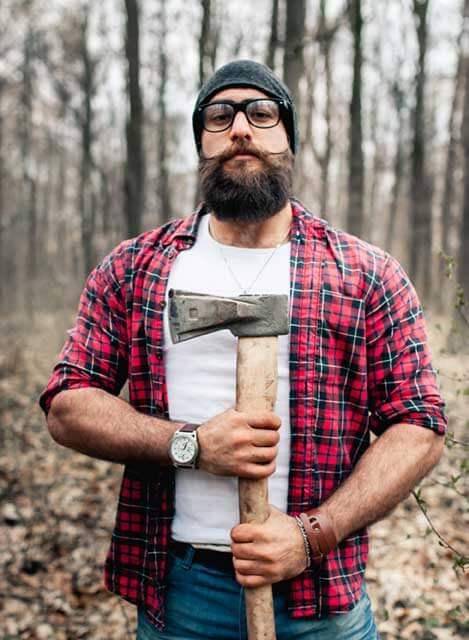 Tipo de barba leñador